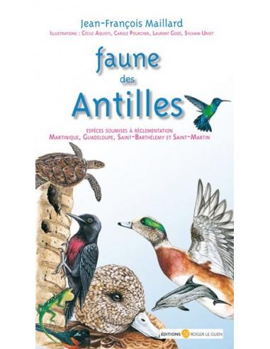 Faune des Antilles - Espèces soumises à règlementation