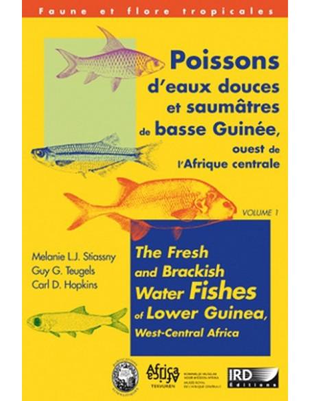 Poissons d'eaux douces et saumâtres de basse Guinée, ouest de l'Afrique centrale vol. 1 & 2 (vendus ensembles)
