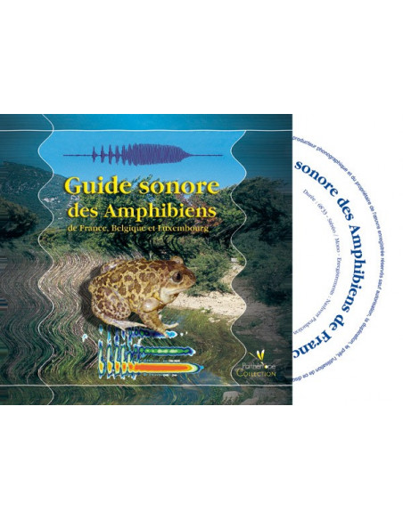 Sound Guide (CD) Amphibians of France, Belgium and Luxembourg (with accompanying book)