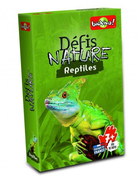 Bioviva - Défis Nature- Reptiles