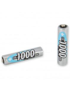 Set of 4 rechargeable batteries AAA LR03 ANSMANN 1000mAh