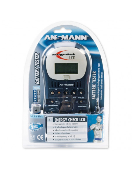 Professional Tester batteries - ANSMANN Energy Check LCD