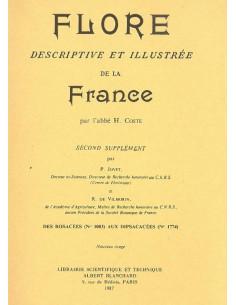 Tous les suppléments de la Flore descriptive et illustrée de la France par l'abbé H. Coste