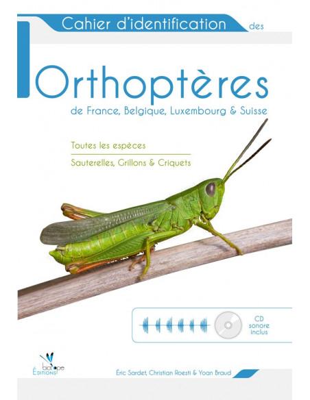 Cahier d'identification des Orthoptères de France, Belgique, Luxembourg et Suisse + CD audio