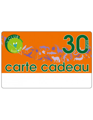 Chèque / Carte cadeau de 30€