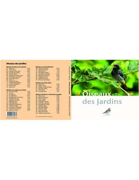 Guide sonore (CD audio) Oiseaux des jardins