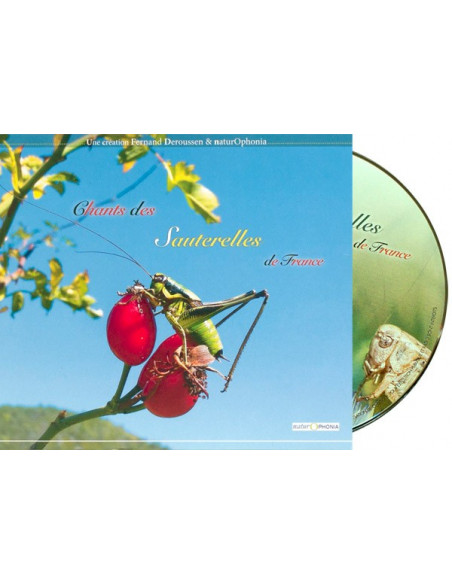 CD songs of grasshoppers of France