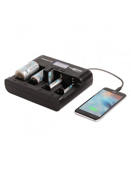 Chargeur universel Ansmann Powerline 5 PRO écran LCD