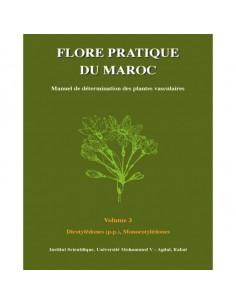 Pack des 3 volumes de la flore du Maroc
