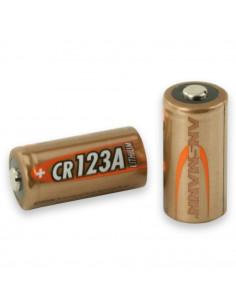 Lot de 4 piles au lithium Ansmann CR-123 - 3V