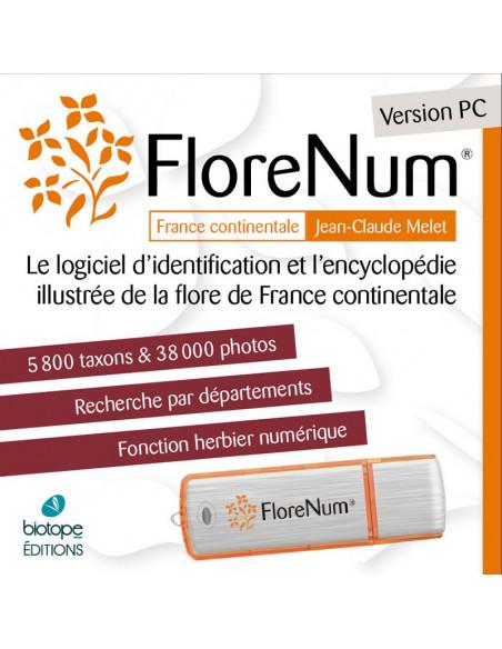 FloreNum - Logiciel botanique (Version PC et MAC)
