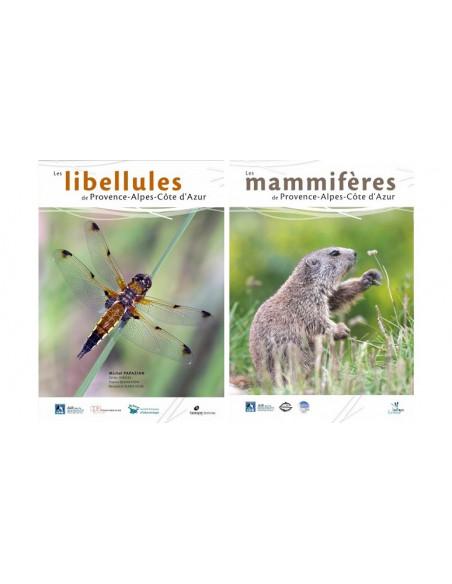 Pack Les libellules de Provence Alpes Côte d'azur & Les mammifères de Provence Alpes Côte d'azur
