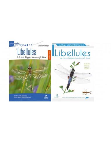 Pack Les libellules de France, Belgique, Luxembourg et Suisse & Cahier d'identification des libellules de France, BLS