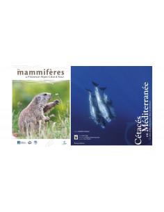 Pack Les mammifères de Provence Alpes Côte d'azur & Cétacés en Méditerranée