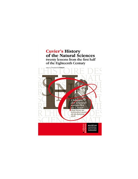L'histoire des sciences naturelles de Cuvier vingt leçons sur la première moitié du dix-huitième siècle
