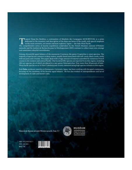Tropical Deep-Sea Benthos - Volume 30