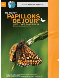 """Atlas des papillons """"de jour"""" Nord-Pas-De-Calais 2000-2014"""
