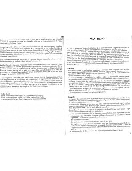 Nouvelle édition - Flore forestière française - Tome 1 Plaines et collines