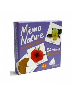 Jeu nature Betula - Mémo Nature Feuilles et fleurs