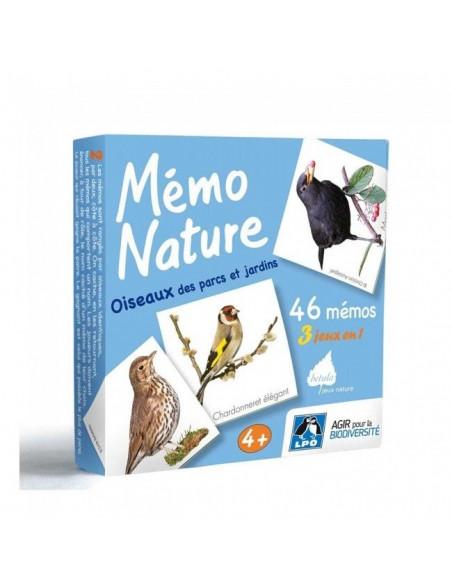 Jeu nature Betula - Mémo Nature oiseaux des parcs et jardins