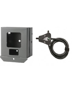 Boitier de protection et câble antivol pour piège photo Hyperfire Reconyx