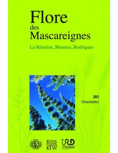 Flore des Mascareignes - La Réunion, Maurice, Rodrigues - 203 Graminées