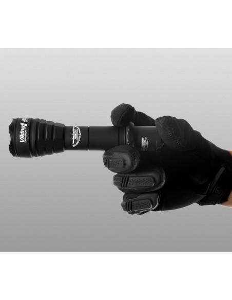 Lampe torche professionnelle Armytek Viking Pro v3  LED / Noire / XP-L (Warm) - 1150 Lumens