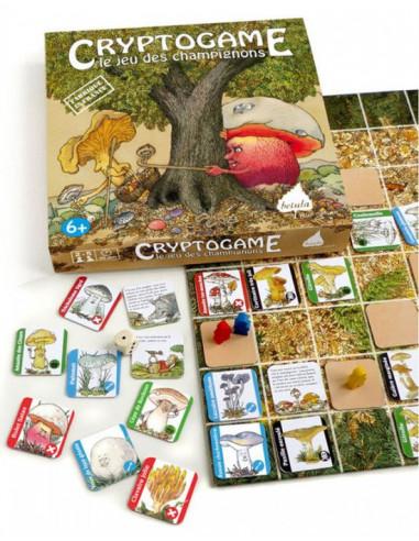 Jeu nature Betula - Cryptogame le jeu des champignons