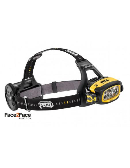 Lampe frontale professionnelle Petzl DUO S - 1100 lumens