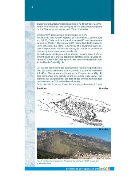 Promenade géologique à Corte