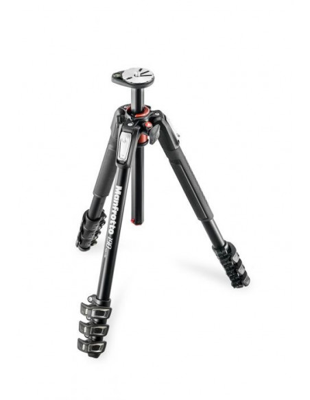 Trépied Manfrotto - 4 sections en aluminium