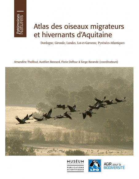 Atlas des oiseaux migrateurs et hivernants d'Aquitaine