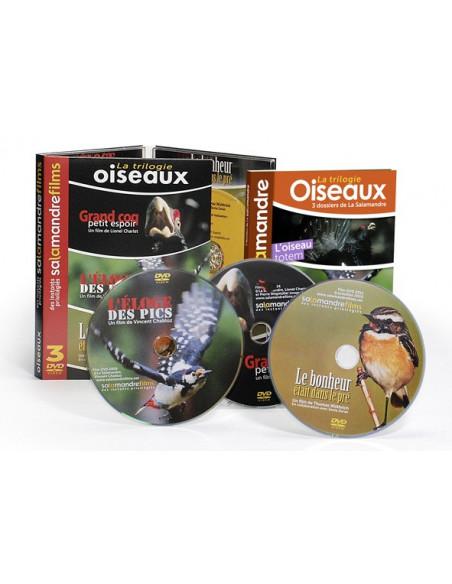 DVD + livre La trilogie oiseaux - Grand coq, petit espoir - L'éloge des pics - Le bonheur était dans le pré
