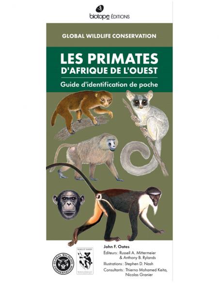 Les primates d'Afrique de l'ouest - Guide d'identification de poche
