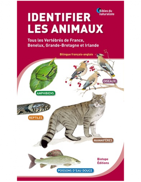 Identifying animals – All Vertebrates of France, Benelux, Great Britain and Ireland