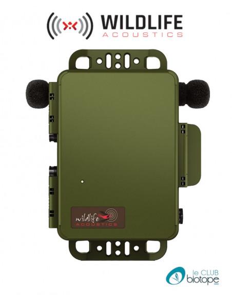 Enregistreur acoustique SM4 Wildlife Acoustics- Avec 2 micros intégrés