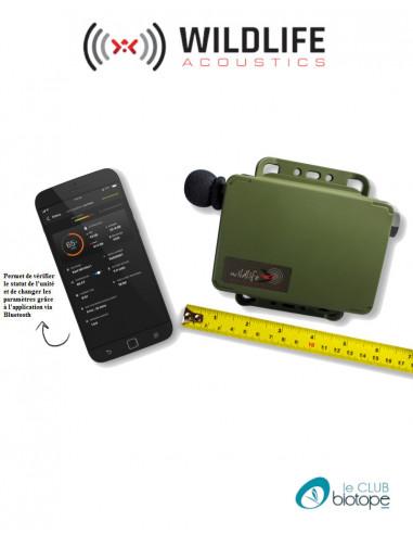 Song Meter Mini (enregistrement audible) Wildlife acoustics