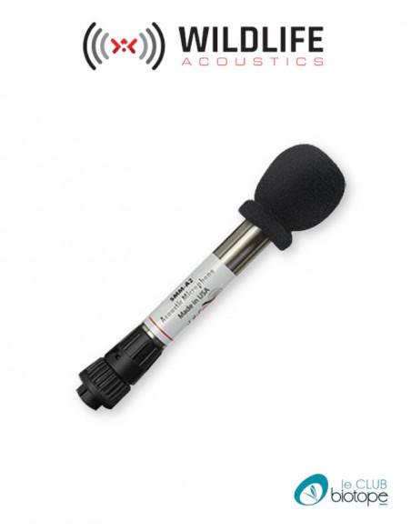 Microphone acoustique SMM-A2 seul Wildlife Acoustics pour SM3/SM3BAT et SM4