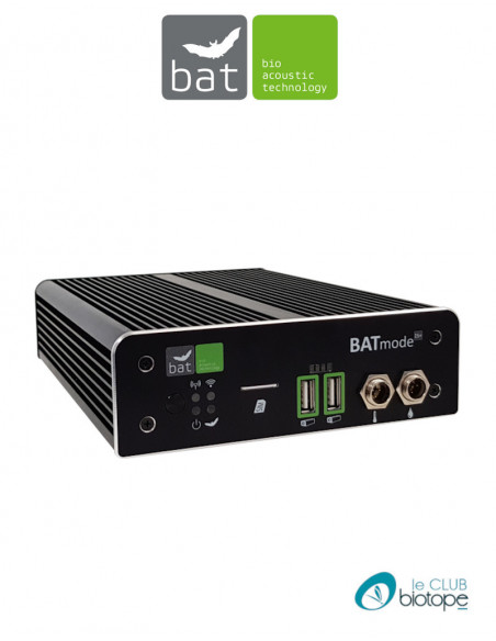 BATMODE 2S+ (WIFI / 4G LTE / SONDE TEMPERATURE) BIO ACOUSTICTECHNOLOGY (ENREGISTREUR D'ULTRASONS)