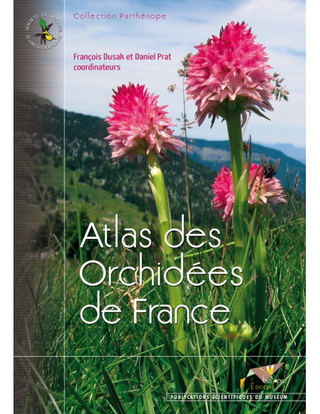 Atlas des orchidées de France - Format e-book