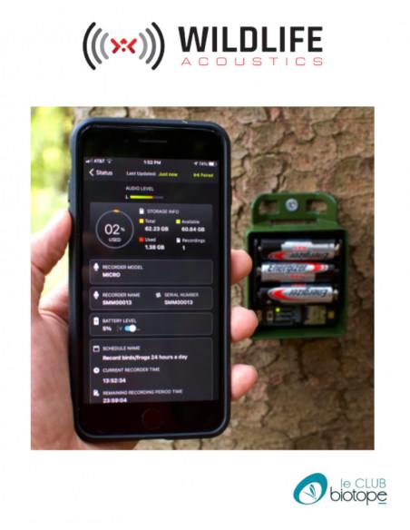 Song Meter Micro (enregistreur audio) Wildlife acoustics