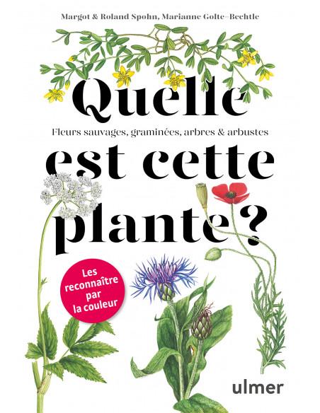 Quelle est cette plante? - Fleurs sauvages, graminées, arbres et arbustes - Les reconnaitre par la couleur.