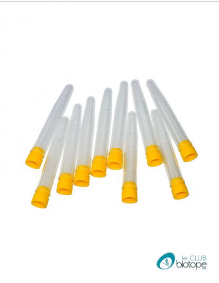 Tubes à essais de diamètre 15-14 mm longueur 90 mm (Lot de 10)