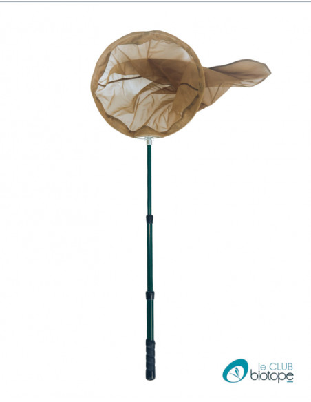 Telescopic butterfly net Pro in 3 sections and foldable
