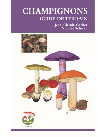 Champignons, guide de terrain