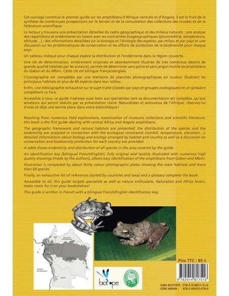 Amphibiens d'Afrique centrale et d'Angola